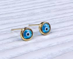 post earrings eye stud earrings tiny post earrings