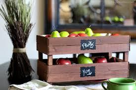diy stackable slatted fruit crates pinkwhen