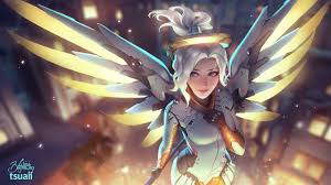 how to make halloween mercy desktop background friend of mine asked me to make an album of my favourite mercy