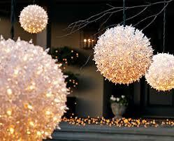 sphere christmas lights christmas decor