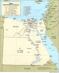 Sinai Peninsula On World Map by Free Egypt Maps