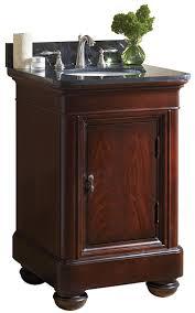 mount vernon 24 inch antique bathroom vanity black granite or tan