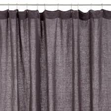 extra long shower design hookless waffle white fabric shower curtain smlf barley