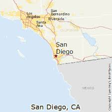 california map san diego best places to live in san diego california