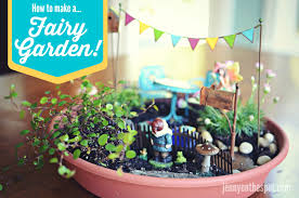 Mini Fairy Garden Ideas by Diy How To Make A Fairy Garden Jenny On The Spot