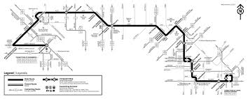 Route 40 Map by Baltimorelink Schedules All Modes Maryland Transit Administration
