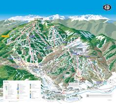 Beaver Lake Map Beaver Creek Piste Maps And Ski Resort Map Powderbeds