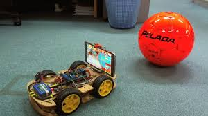 Radio Locator App Controlling 4wd Arduino Robot Via Color Tracking Youtube