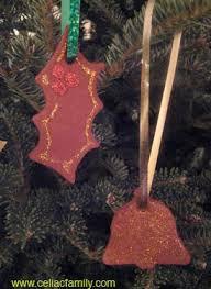 gluten free cinnamon ornaments craft