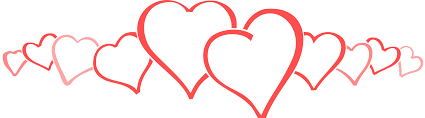 valentine hearts banner downloadclipart org