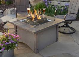 glass for fire pit optional log set accessory for fire pits do it yourself fire
