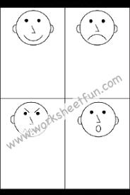 feelings u0026 emotions free printable worksheets u2013 worksheetfun