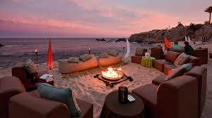hotels with the coziest fire pits top hotels travel channel