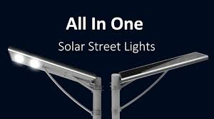 Solar Led Street Lighting by Integrated Outdoor Solar Led Street Lights Video Illustration