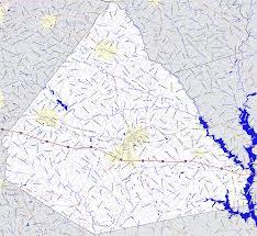 Georgia Road Map Bridgehunter Com Morgan County Georgia