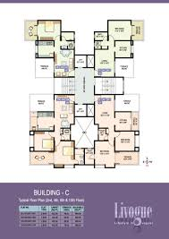 floor plan ram india group livogue at hadapsar pune