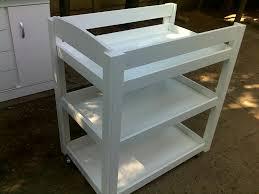 Change Table Bath Sleigh Bath Changing Trolley 810 X 500 X 900 S Baby Furniture