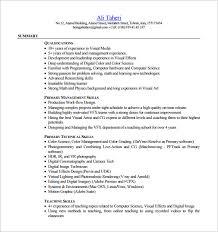 resume pdf free download digital resume template 8 free word excel pdf format download