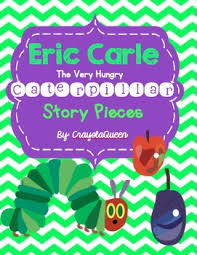 eric carle the hungry caterpillar story pieces by crayola