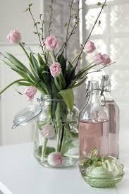 idee deco pour grand vase en verre idées déco de printemps bouquets de fleurs vases 30 photos