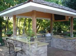 outside kitchen ideas best 25 outdoor kitchen design ideas on outdoor
