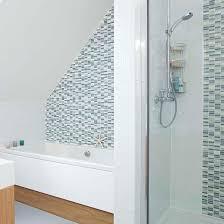 bathroom tile feature ideas shower room ideas