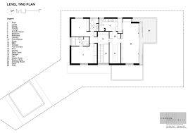 second floor plan of contemporary house design with outstanding