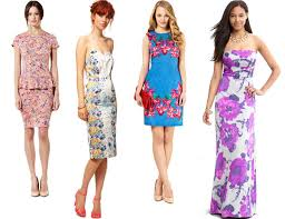 wedding guest dresses for summer feminine and funky summer floral wedding guest dressescherry