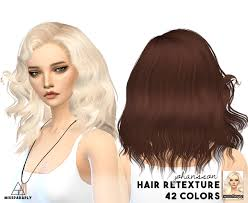 cc hair for sism4 my sims 4 blog sintiklia hair retexture for females by missparaply