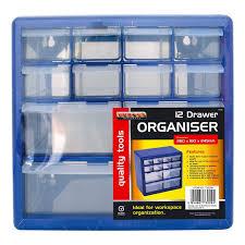 Wall Organiser Multi Drawer Storage Organiser Cabinet Garage Home Diy Tools 12