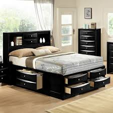 Queen Bed Frames And Headboards by Elegant Queen Bed Frame With Drawers And Headboard 69 For Metal