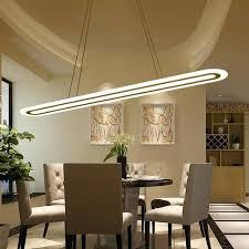 lustre pour cuisine moderne lustre pour cuisine moderne led suspension lustre ovale bande