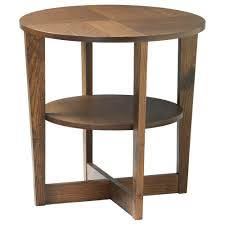 Wood Round End Table Furniture Ikea End Tables And Round Nightstand Ikea
