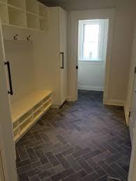 Herringbone Tile Floor Kitchen - black slate herringbone tile floor google search yours