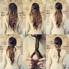 Frisuren Lange Haare Zusammengebunden by Haare Zusammenbinden Frisuren Amanda Rodman