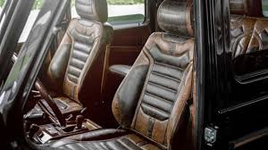 mercedes benz g class interior 2015 1990 mercedes benz g class receives vintage theme from carlex