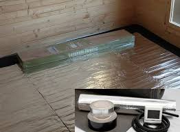 underfloor heating heating your garden room electric foil