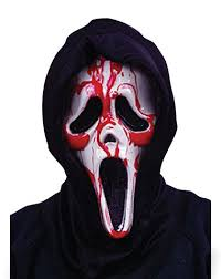 Spirit Halloween Scary Costumes Scream Dripping Bleeding Mask Halloween Halloween