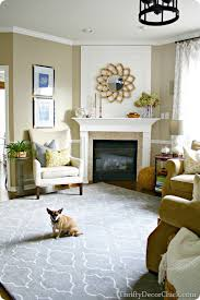 Pottery Barn Scroll Rug The New Family Room Rug From Thrifty Decor