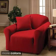 Small Club Chair Slipcover Fitted Chair Covers U0026 Slipcovers Shop The Best Deals For Nov