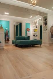 light colored oak wide board floors kitchen with oak and