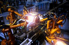 bmw factory robots abb robots to help changan ford be responsive robotics business