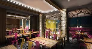 Interior Design Restaurants Indian Restaurant Concept Design London Haringey On Behance