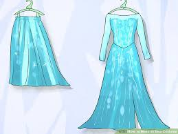 Elsa Costume How To Make An Elsa Costume 9 Steps With Pictures Wikihow