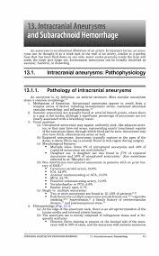 intracranial aneurysms and subarachnoid hemorrhage springer