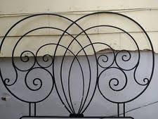 wrought iron headboards and footboards ebay