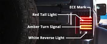 jeep back lights introducing the new 279 j series ece off road led jeep tail light