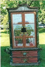Painted Armoire Furniture Bonnie Siracusa Murals U0026 Fine Art