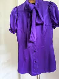 purple silk blouse dolce gabbana silk blouse