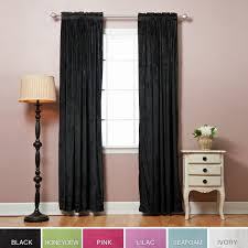 World Market Smocked Curtains by Amazon Com Micro Velvet Window Curtain 116
